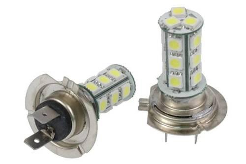 Żarówka samochodowa LED H7 18 SMD 5050