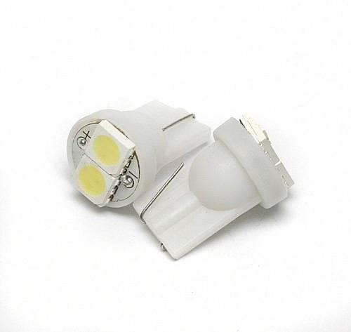 Żarówka samochodowa LED W5W T10 2 SMD 5050