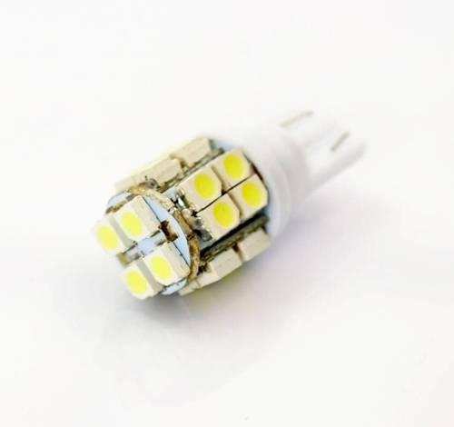 Żarówka samochodowa LED W5W T10 20 SMD 1210