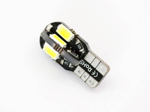 Żarówka samochodowa LED W5W T10 8 SMD 5630 CAN BUS 360 stopni