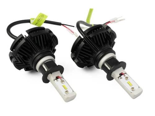 Zestaw żarówek LED H3 X3 DIODY TYP ZES 50W 12000 lm